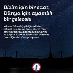 Bizim için bir saat karanlık, dünya için aydınlık bir gelecek…