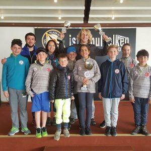 İstanbul Yelken Ligi Trofesi 1. Ayak Yarışları sonuçları