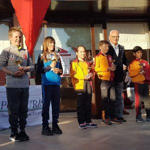 Aras AKTAŞ Optimist Junior kategorisinde 5. oldu.