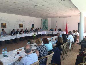 Kulübümüzün Divan Kurulu toplantısı, Heybeliada tesislerimizde gerçekleşti.