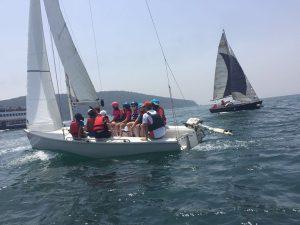 İstek Vakfı Okulları konaklamalı Yelken Spor Okulu Kampı devam ediyor