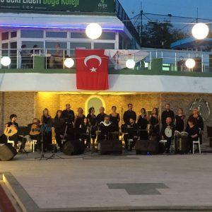 Ayangil Atölyesi Fasıl Mesk grubu konseri bugün HSSK'da gerçekleşti.
