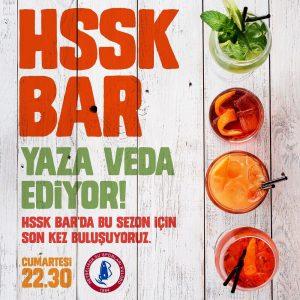 HSSK Bar'da yaza veda ediyoruz!