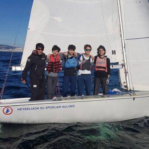 Yelkencilerimiz için kamp dönemi