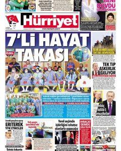 Türkiye'nin en büyük domino böbrek nakli gerçekleştirildi.