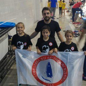 9 yaş test yarışı Burhanfelek yüzme havuzu tesislerinde gerçekleşiyor.