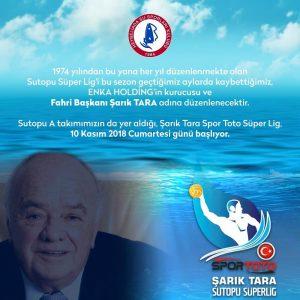 Şarık Tara Spor Toto Süper Lig, 10 Kasım 2018 Cumartesi günü başlıyor!