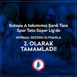 Sutopu A takımımız sezonu ikinci sırada tamamladı!