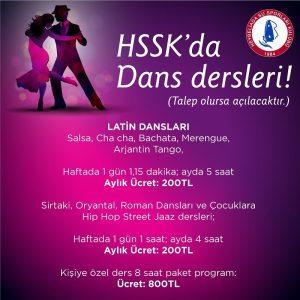 HSSK'da dans zamanı!