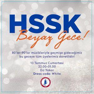HSSK Beyaz Gece!