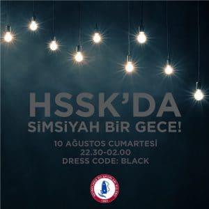 HSSK'da simsiyah bir geceye bekliyoruz!