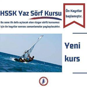 HSSK Yaz Sörf Kursu Ön Kayıtları Başladı