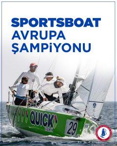 HSSK / Quick Sigorta Takımı ORC Sportboat Avrupa Şampiyonu oldu.