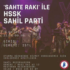 """""""Sahte Rakı"""" ile HSSK Sahil Parti!"""