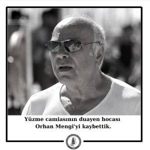 Yüzme camiasının duayen hocası Orhan Mengi'yi kaybettik.