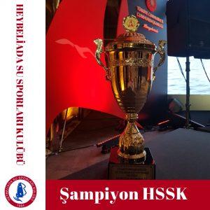 Şampiyon HSSK!
