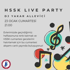 Hssk Live Party Bu Akşam!