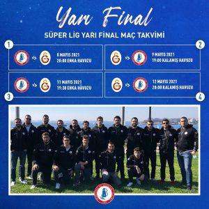 Süper Lig Yarı Final Maç Takvimi