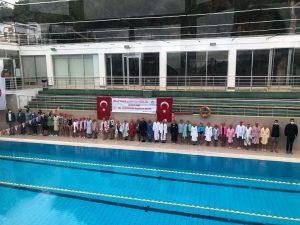 Adalar Belediyesi Yüzme Yarışları Tesislerimizde Gerçekleştirildi