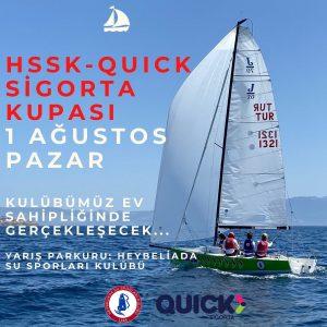 Hssk-Quick Sigorta Kupası 1 Ağustos Pazar Heybeliada'da