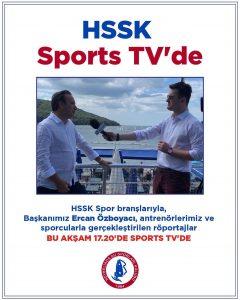 HSSK, Sports TV'de…